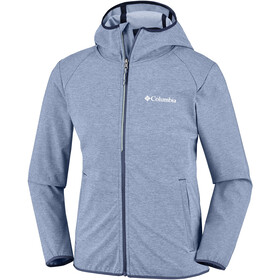 Columbia Heather Canyon Softshell Jacket Youths Collegiate Navy